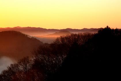日の出の後(茂木町・鎌倉山)
