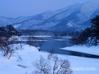 裏磐梯 雪景色