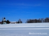 美馬牛小学校 雪景色