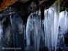 スッカン沢 冬景色 氷筍