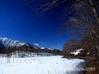 観音沼 雪景色