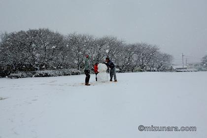 雪 雪だるま