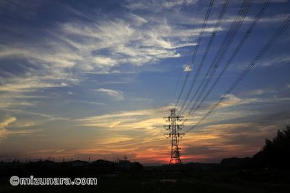 夕焼け 雲