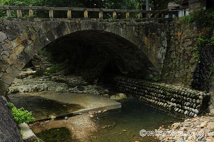上山市 新町めがね橋