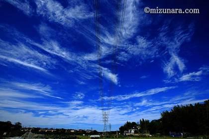 台風一過 秋雲