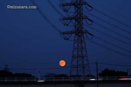中秋の名月 月