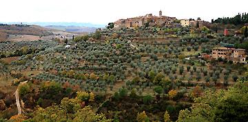 丘の上の小さな村